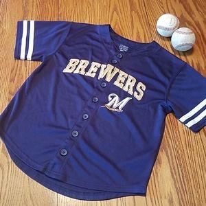 MLB Milwaukee Brewers jersey